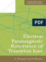 Electron Paramagnetic Resonance of Transition Ions - A. Abragam, B. Bleaney (2012, Oxford University Press).pdf