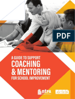 A Guide to Support Coaching and Mentoring for School Improvement