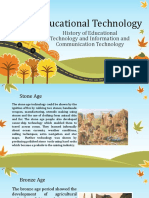 2. History of Educational Technology and Information and Communication Technology - For Students