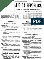 Decreto Nº 33_91 de 26 de Julho