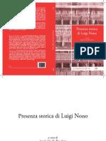 Presenza Storica Di Luigi Nono