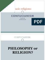 Daoic Religions