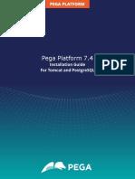 Pega74 Install Tomcat Postgresql