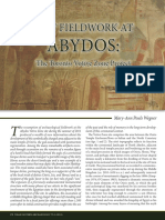 NEA 75, 2012, Pouls Wegner, New Fieldwork at Abydos