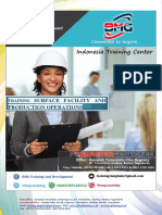 Training Surface Facility and Production Operations