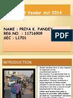 Street Vendors Act
