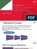 Attendance Ppt