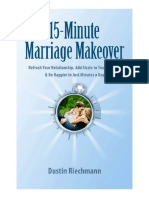 15 Minute Marriage Make Over
