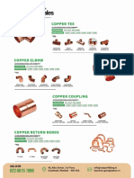 Kanchan Sales Copper Pipe Fittings Manufacturer