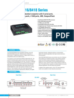 Moxa Uc 8410 Series Datasheet v1.0