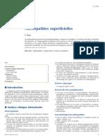 Adénopathies Superficielles (cours)