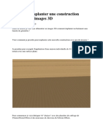Comment Implanter Une Construction Explications Images 3D