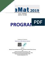 Program Bramat2019m