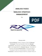 Materi Strategic Fedex. Grup F