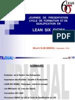 presentation Lean Six Sigma