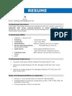 Sailpoint resume