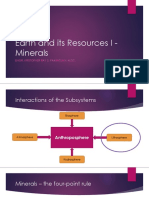 Earth and its Resources I - Minerals.pptx