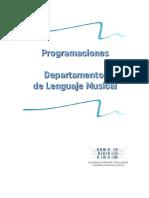 Programación Dep Lenguaje Musical