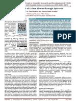 Management of Lichen Planus through Ayurveda