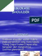 Dislokasi Shoulder ortho Ppt