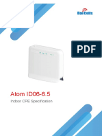 Baicells Atom ID06-6.5 Indoor CPE Specification-V1.2
