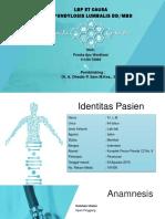 Spondylosis referat