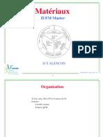 Cours Matériaux 2011-2012 Etud