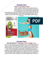 Benefits of Dynamic Keto Diet