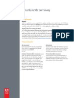Adobe India Benefits Summary