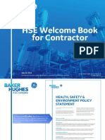 HSE Welcome Book for Contractor