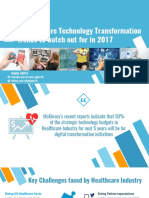 5 Healthcare Technology Transformation Trends to Watch Out for in 2017
