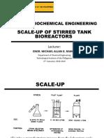 CHE503 Bioreactor Scale Up