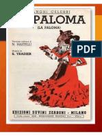Sebastian Yradier - La Paloma - Accordion
