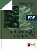 Addiktológia Alapjai Negyedik Kötet