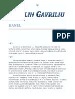 Catalin Gavriliu - Kanel