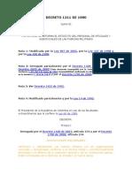 160. Decreto 1211 de 1990 (1)