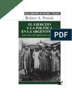 Potash, Robert - Ejercito y Politica en Argentina