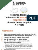Recomendaciones Sobre Uso de as e Higiene de Manos