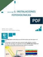Presentación M2T1 Energía Fotovoltaica