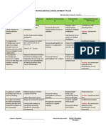 Professional Development Plan-semeo Requirement