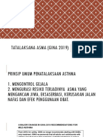 tatalaksana asma (GINA 2019)