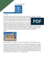 Características y Diferencias de Los Estilos Arquitectónicos