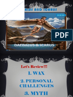 Daedalus and Icarus Ppt