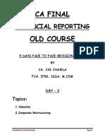 Amalgamation and Valuation by CA Raj