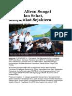 Daerah Aliran Sungai Bersih Dan Sehat