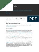 Chemical Tanker Design