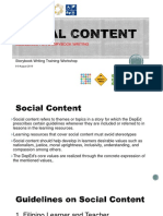 Learning Resources - Social Content