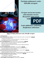 3. Patologia Pulmonara Acuta. Infectiile Aerogene