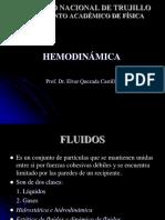 HEMODINAMICA Y FÍSICA DEL SISTEMA RESPIRATORIO - SEMANA 6 Y 7