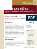 The Compound Effect Summary